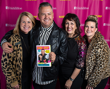 Ross Mathews with the Skagit Valley Hospital Foundation Staff
