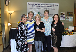 Cascade Valley Hospital wound care marks 20 years