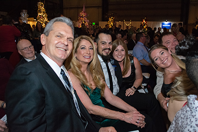 Group at 2019 Festival of Trees Gala