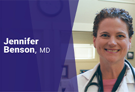 Meet Dr. Jennifer Benson, Family Medicine