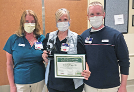 CVH Emergency Department Nurse Receives Daisy Award