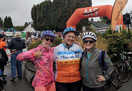 SRH Employees Ride to End MS