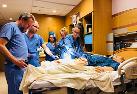 Focus on Patient Safety: Nearly 100 Participate in Simulation Training