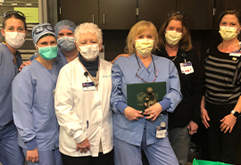 CVH RN receives Daisy Award for Extraordinary Nurses