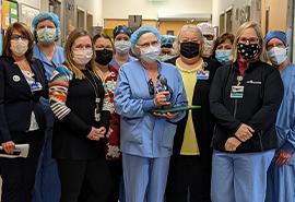 Operating Nurse receives DAISY Award for Extraordinary Nurses