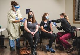 Skagit Regional Health begins staff COVID-19 vaccinations