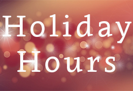 Holiday Hours at Skagit Regional Health