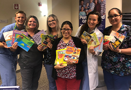Reach Out and Read at Family Medicine Residency Clinic