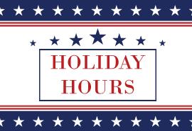 Holiday Hours at Skagit Regional Health