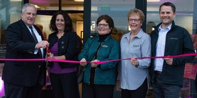 Ribbon Cutting Ceremony at Skagit Imaging Pavilion