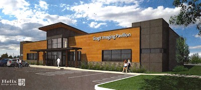 Rendering of Women's Imaging Center
