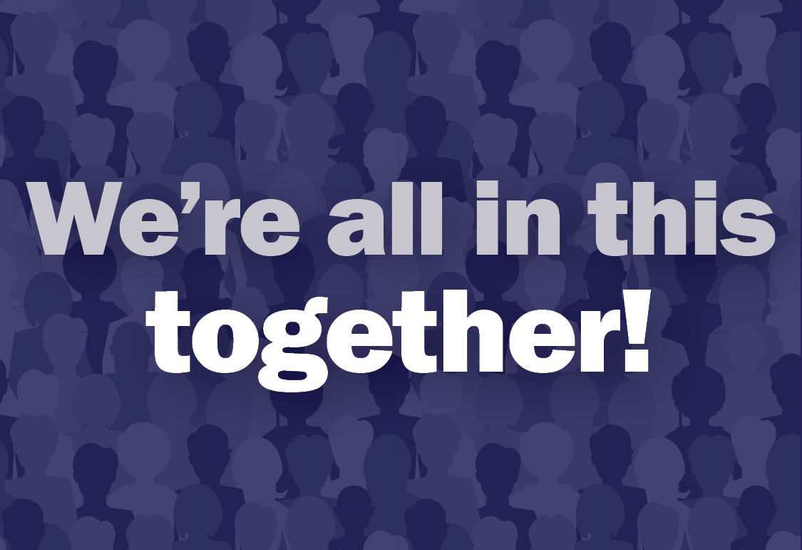 We're all in this together! Resources in the community.