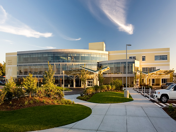 Skagit Valley Hospital Exterior