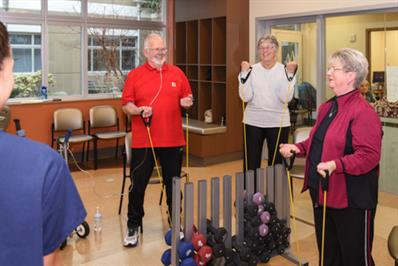 Patients in cardiac rehabilitation