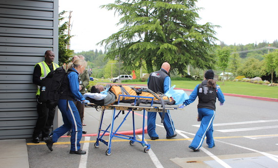 Airlift NW with Patient at Cascade
